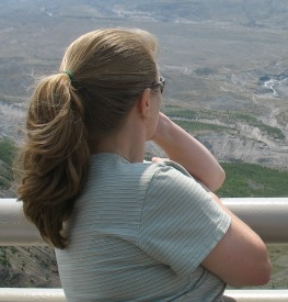 Anticipatory Grief woman looking into the distance