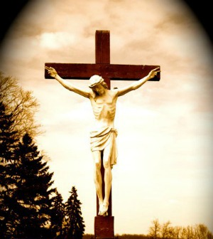 I measure every grief - Jesus on the cross
