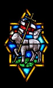 Worthy is the Lamb - Stained Glass