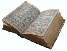 Yellowed Bible